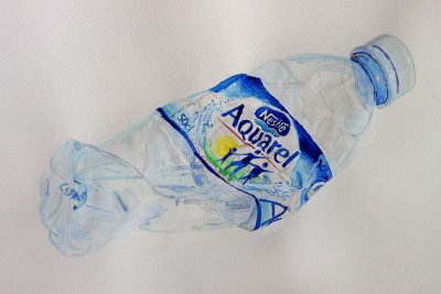 Aquarel-bottle