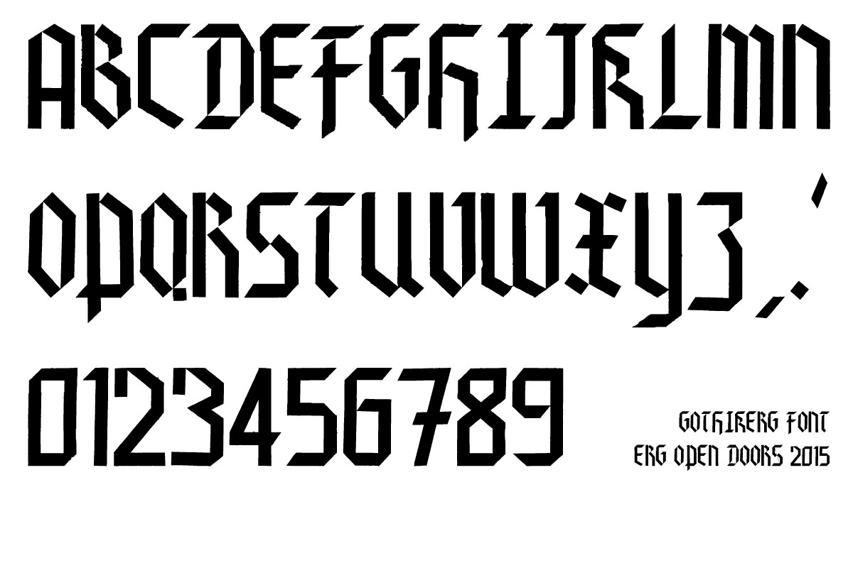 gothikerg-font